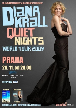 Diana Krall - Quiet Nights Tour - Prague
